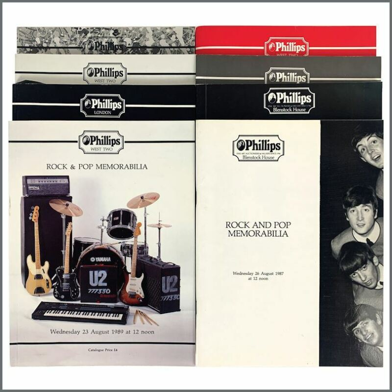 Phillips Auction House 1980s-1990s Auction Catalogue Collection (UK)