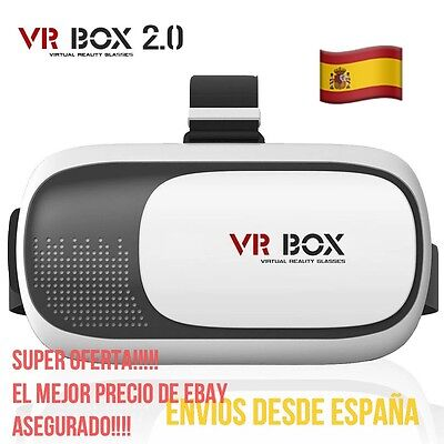 Usado, Gafas VR BOX 2.0 3D Realidad Virtual IPHONE SAMSUNG ANDROID SÚPER OFERTA!!! segunda mano  Valladolid