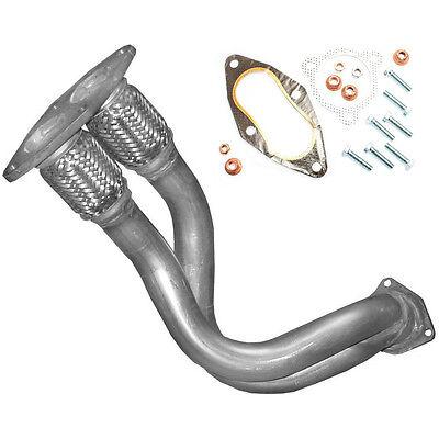 Hosenrohr mit flex  Auspuff VW Sharan 2.0i 85kW bis Bj. 03/2000  + Anbausatz