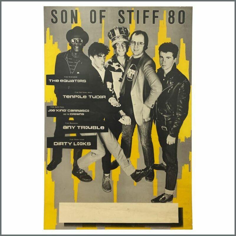 Son of Stiff 1980 Tour Poster (UK)
