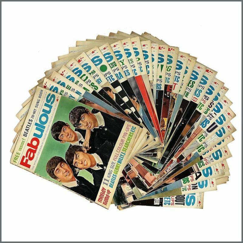 Fabulous Magazines 1964 Complete Run (UK)