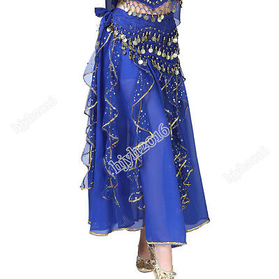 Belly Dancing Costume Skirt India Dance Halloween Stage Performance Outfits