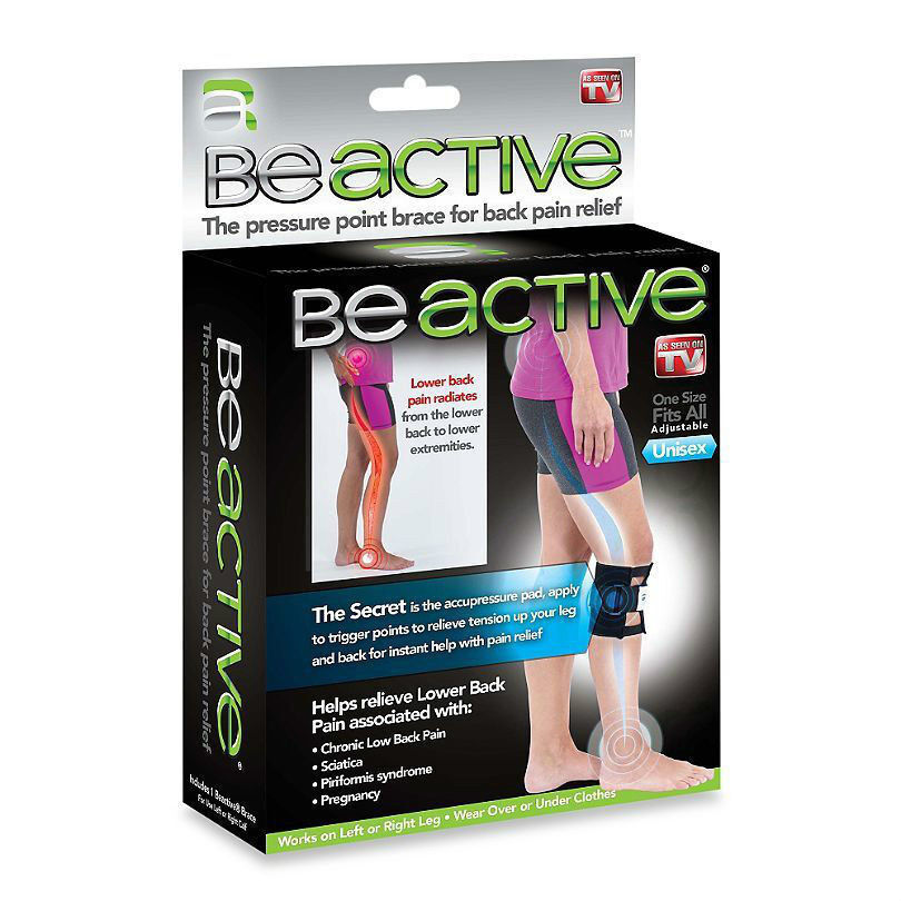 BeActive Knee Brace: Helps Relieve Lower Back Pain and Pain