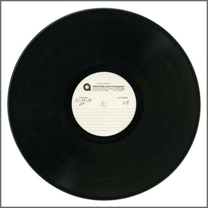 Queen Hot Space Double Sided Test Pressing Allied Record Company (USA)