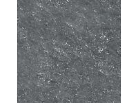 60*60 Polished Porcelain Senza Dark Grey Pre-sealed Floor tiles