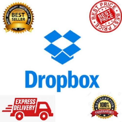Dropbox 2TB Plus Account Upgrade ✔️OneTime payment ✔️Lifetime support