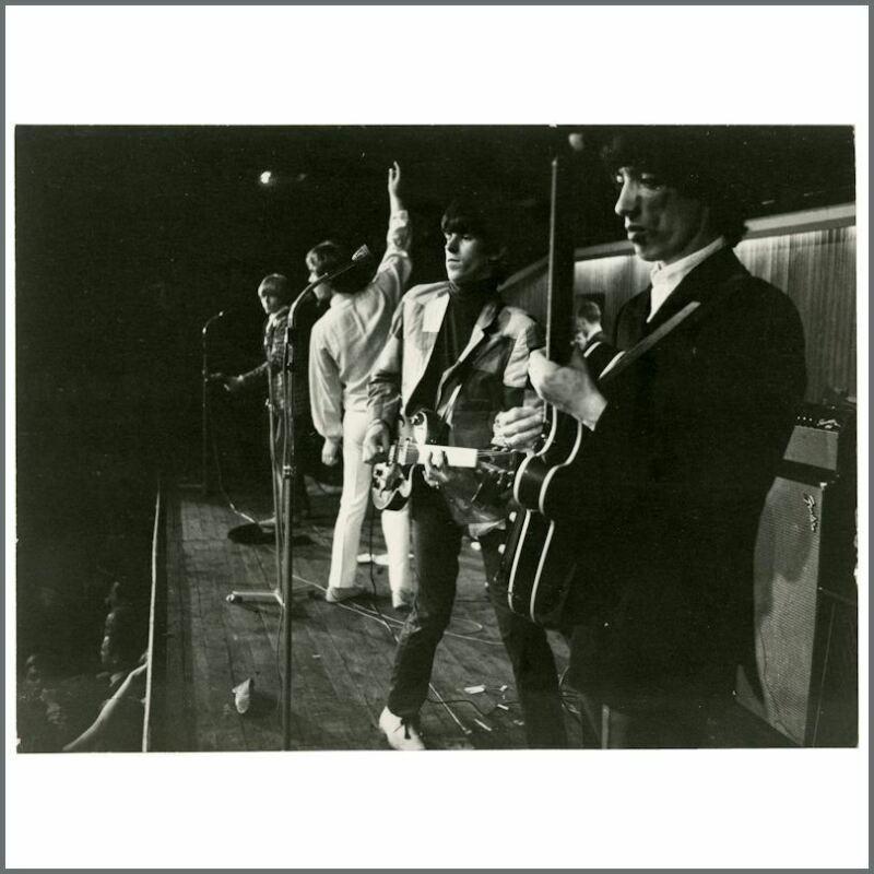 Rolling Stones 1966 KB Hallen Copenhagen Vintage Photograph (Denmark)
