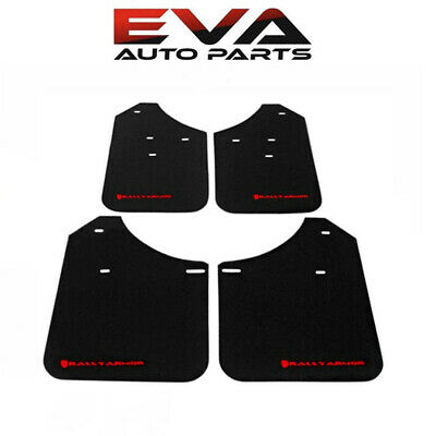 Rally Armor Mud Flap RED Logo for 02-07 Subaru Impreza WRX / STI - MF1-BAS-RD