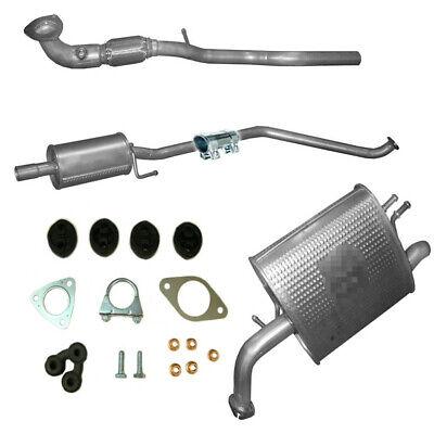 Honda Jazz 1.2 1.4 Mitteltopf Auspuffanlage Abgasanlage Auspuff Auspuffrohr Rohr