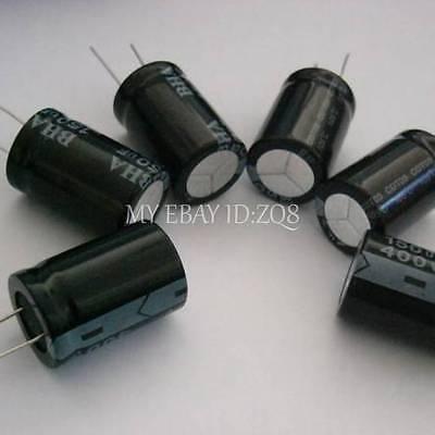 38pcs 10 Values 450v 2.2uf56uf Electrolytic Capacitor Kit Set
