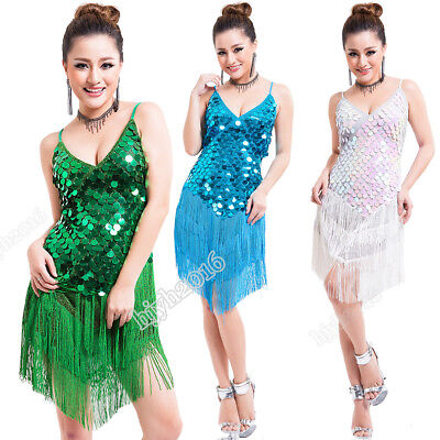 Women Gatsby Dress 1920s Flapper Party Charleston Sequined Halloween Outfits (Gatsby Outfits Women)