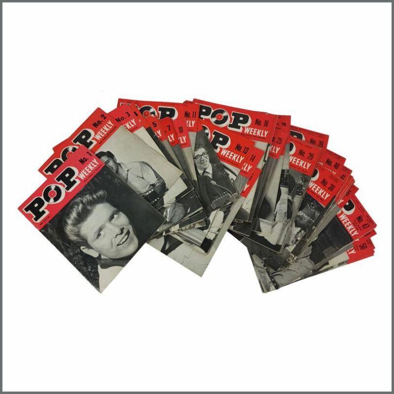Pop Weekly Magazine 1962/1963 Series 1 Complete Run 52 Issues (UK)