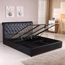 Valencia Gas Lift PU Leather Bed Frame Queen or King Size New Hoppers Crossing Wyndham Area Preview