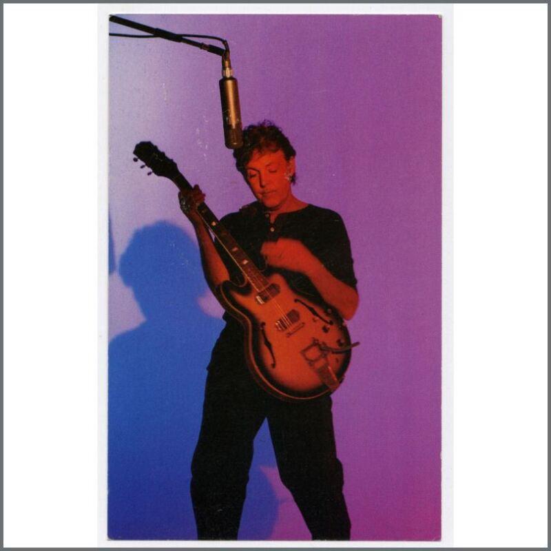 Paul McCartney 1999 Run Devil Run Listening Party Invitation (UK)