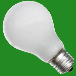 1x 100w incandescent tungsten filament pearl gls light bulbs e27 screw es rough ebay Tungsten light bulbs