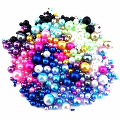 Plastic Beads (Mix Color & Size Plastic Pearl beads - Nail Art Caviar Mirco beads Cage)
