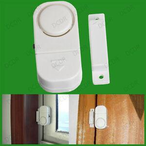 2x alarme sans fil de porte et fen tre capteur de s curit - Alarme de porte sans fil ...