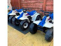 Suzuki lt50 lt 50 lta50 lt80 lt 80 honda qr50 pw50 kids quad bike wanted