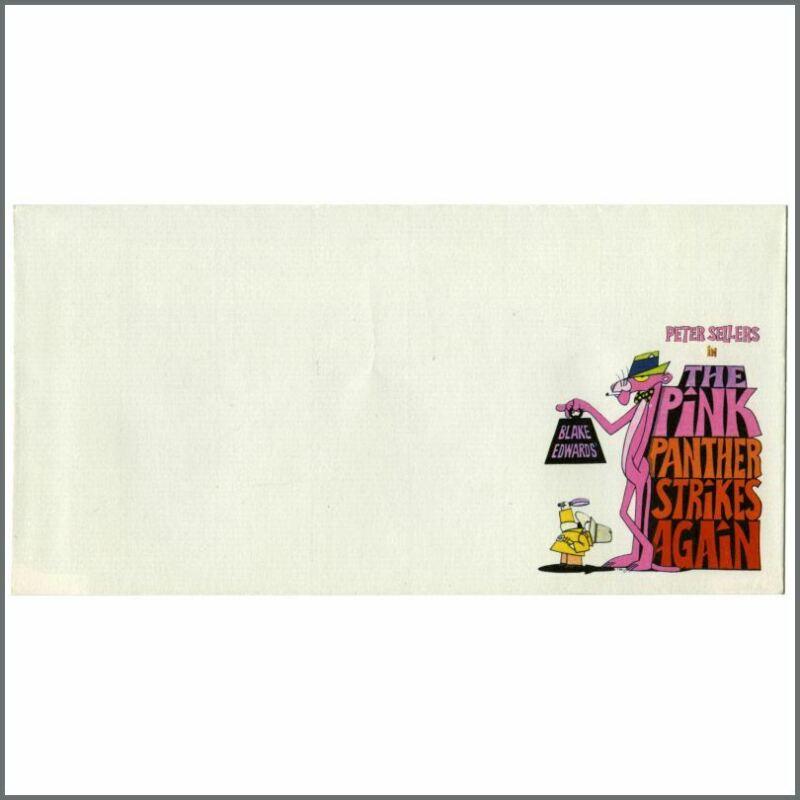 Peter Sellers 1976 The Pink Panther Strikes Again Unused Envelope (UK)