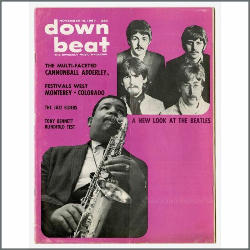 The Beatles 1967 Down Beat Magazine (USA)