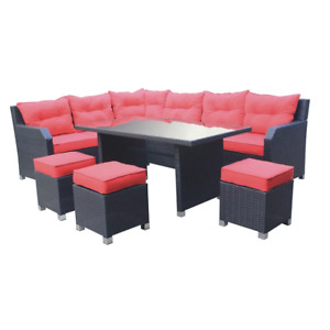 New in box only table and 3 small ottoman