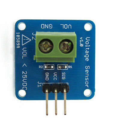 1pcs Dc Voltage Sensor Module Voltage Detector Divider For Arduino Dg New