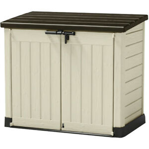 Keter Store It Out Max Garden Storage Box / Wheelie Bin Store  sc 1 st  eBay & Wheelie Bin Storage | Storage Supplies | eBay
