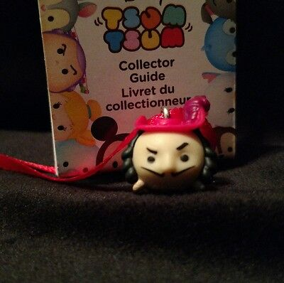 Disney Tsum Tsum Captain James Hook mini Christmas ornament Peter Pan