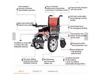 wheelchair electric folding new selling