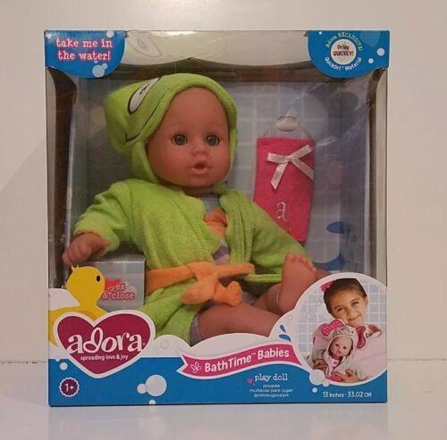 "Adora 13"" BathTime Baby Doll - Frog SKU#20253002 Ages 1"