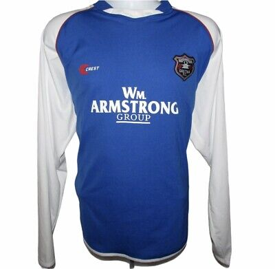 2006-2007 Gretna Away Football Shirt, Crest, Large (Excellent Condition) image