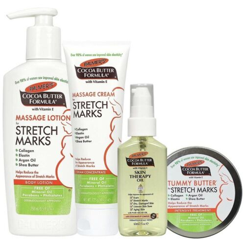 Palmer's Cocoa Butter Formula Complete Stretch Mark Pregnancy Skin Care Kit Set