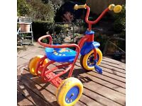Raleigh Teddy Red, Blue and Yellow toddlers trike