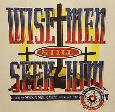 CHRISTIAN OUTFITTERS WISE MEN STILL SEEK HIM  HOODED SWEATSHIRT #1127 (Wise Men Still Seek Him T Shirt)
