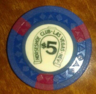 Binion's Horseshoe Obsolete $5 arrow die mold Casino Chip