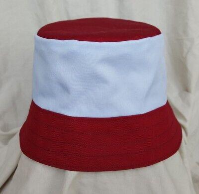 New Aston villa football style bucket hat.1990's football casuals. SZ M. (Aston Villa Hat)