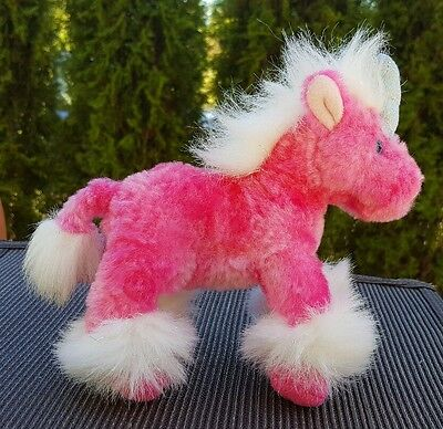 "Unicorn Plush Charisma Russ Pink White Sparkly Scented 8"" Stuffed Animal # 24029"