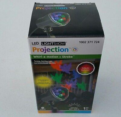 GHOST - LED Lightshow PROJECTION Turning/Swirling MOTION & - Strobe Lichterkette