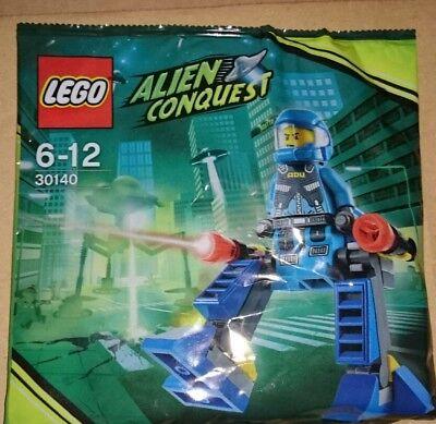 Lego 30140 + 30141- Alien Conquest - Adu Walker + Jetpack Polybag / Promo
