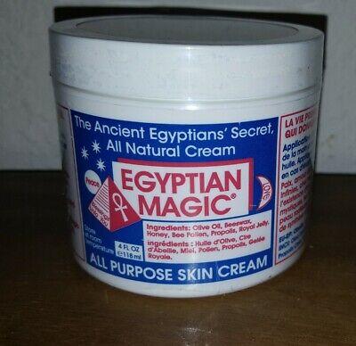 Egyptian Magic All Purpose Skin Cream 118ml / 4oz Sealed expires 3/2022  natural All Natural Skin Cream
