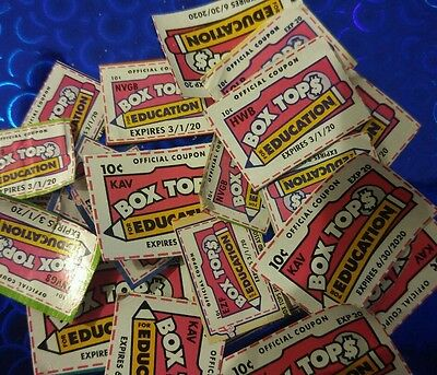 100 BOX TOPS FOR EDUCATION - BTFE - NONE EXPIRED all 2020 dates