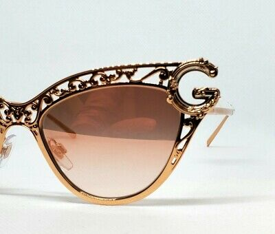 NEW DOLCE & GABBANA  SUNGLASSES DG2239 PINK GOLD BEST PRICE ON THE (Sunglasses Best Price)