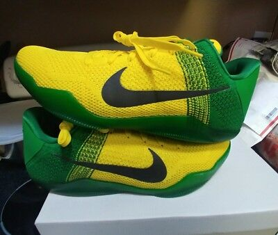 quality design 7389a 05d9e Nike Kobe 11 Oregon Sz 13.5 PE 13 jordan xi Promo Sample Ducks player  exclusive