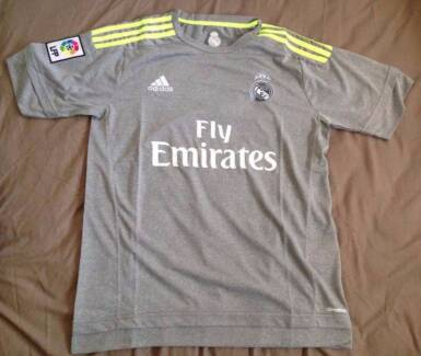 Authentic Real Madrid Away andHome Jersey 2015/16 Limited quality Pyrmont Inner Sydney Preview