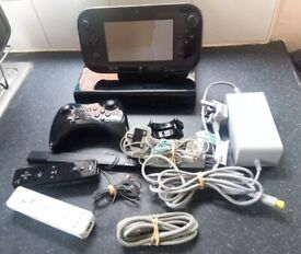 Nintendo Wii U console Bundle with Games