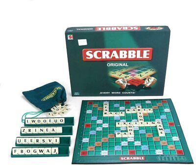 Scrabble Original Board Game Adults Kids Classic Family