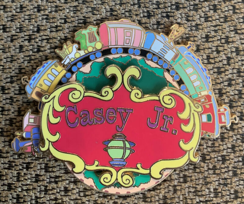 Disney Auctions Dumbo Casey Jr Circus Train Large Spinner Pin LE 500 37352