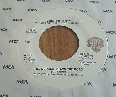 John Fogerty – The Old Man Down The Road / Big Train (From Memphis) ~ (VG++)