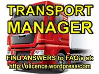 TRANSPORT MANAGER -- CPC HOLDER -- HGV O-LICENCE -- TRAILERS TO HIRE