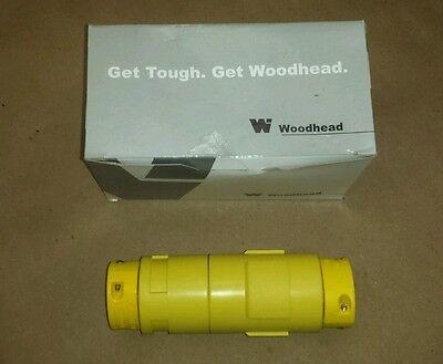 Woodhead 1301210065 891l Connector Plug Rd Cbl To Flat 4cond 30a 120208v